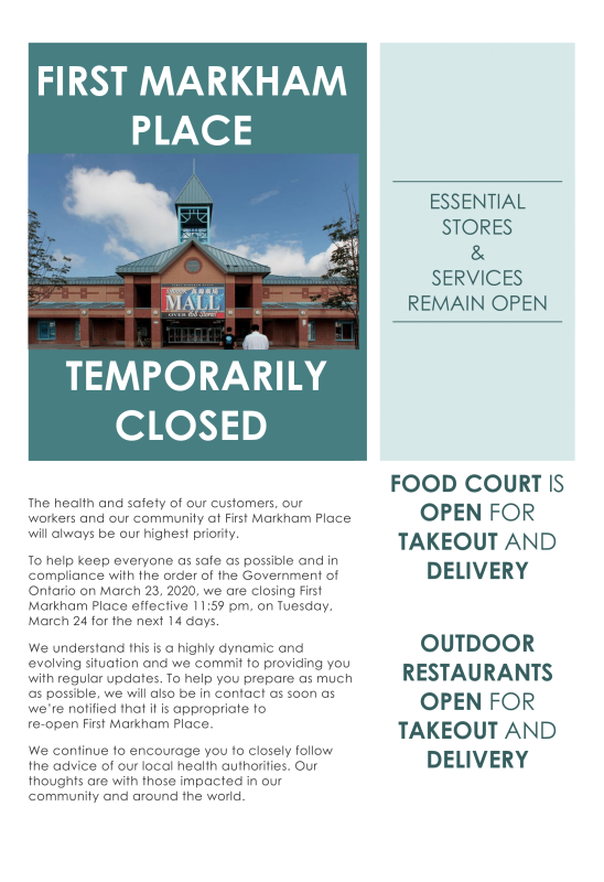 20200325 Flyer to Public re Mall Closure (1)-1